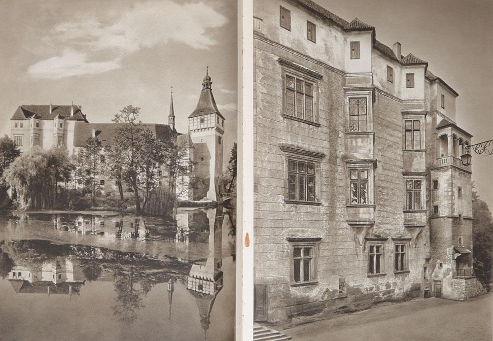 Burgen und Schlosser (Bohmen und Mahren)