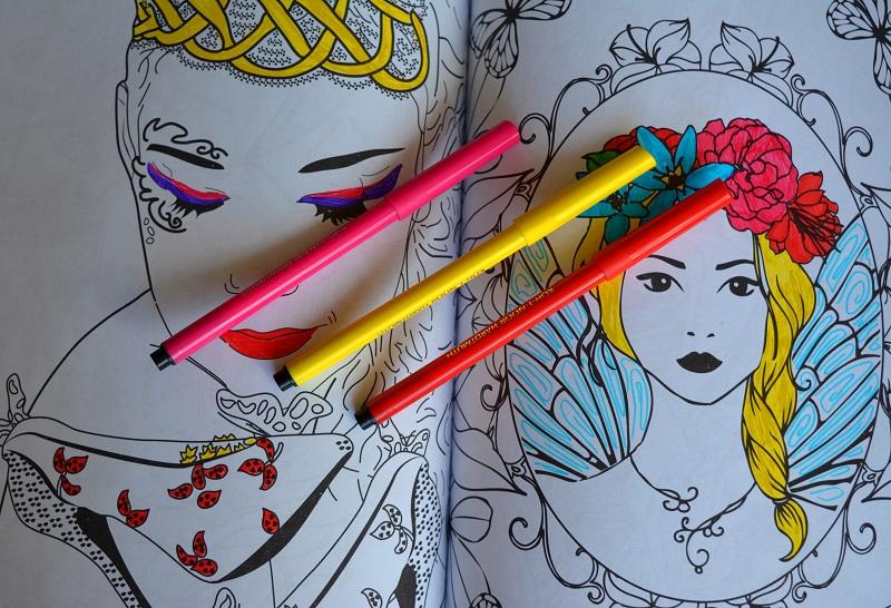 Страна фей. Раскраска-антистресс для творчества и вдохновения