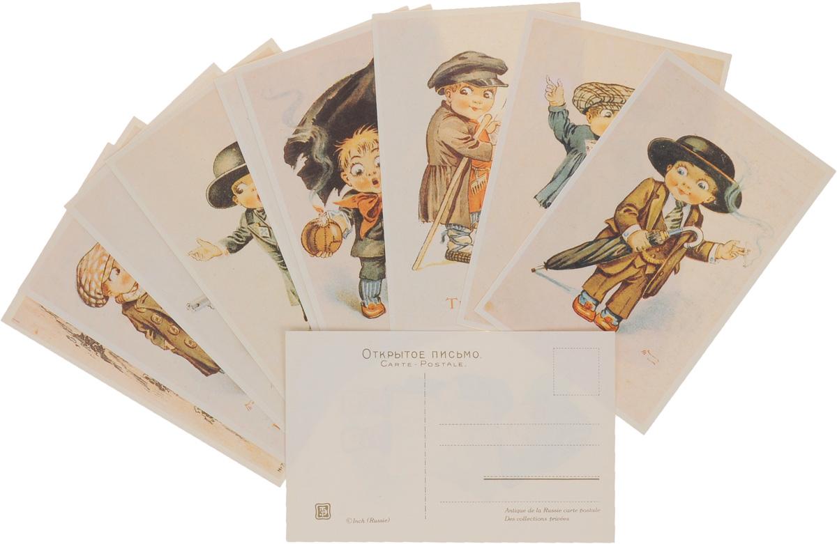 Русский юмор начала ХХ века. Свобода собраний (набор из 10 открыток)