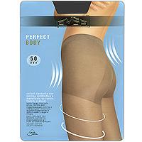 Колготки Perfect Body 50Perfect Body 50_DainoПоддерживающие колготки с утягивающими трусиками, моделирующими фигуру в области живота, бедер и ягодиц. Комфортные швы, гигиеничная ластовица и невидимый носок. Плотность: 50 ден.
