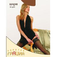 ЧулкиШарм 40_ЗагарТонкие самоподдерживающиеся чулки с элегантной кружевной фиксирующей резинкой на силиконовой основе и незаметным носком. Плотность: 40 ден.