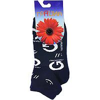 НоскиМ1068Позитивные носочки со смайликами и логотипом любимой марки. Высококачественный хлопок.