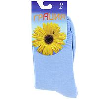 НоскиH 002Женские носки Грация изготовлены из экологически чистых материалов в соответствии с мировыми стандартами качества. Комфортная широкая резинка не сдавливает ногу.