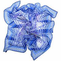Платок5900229Платок с оригинальным рисунком подчеркнет ваш стильный образ. Края платка обработаны вручную. Если Вы любите фантазировать и не страшитесь экспериментов с собственным имиджем - попробуйте превратить платок в браслет, головную повязку или легкий аксессуар для дамской сумочки.