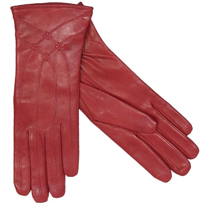 Перчатки женские на шерсти. 543Э-2L_543Стильные женские перчатки Edmins не только защитят ваши руки, но и станут великолепным украшением. Перчатки выполнены из мягкой и приятной на ощупь кожи ягненка, подкладка - из натуральной шерсти. Перчатки оформлены декоративной отстрочкой, на внутренней стороне манжеты присборены на резинку. Такие перчатки станут идеальным аксессуаром, дополняющим ваш стиль и неповторимость.