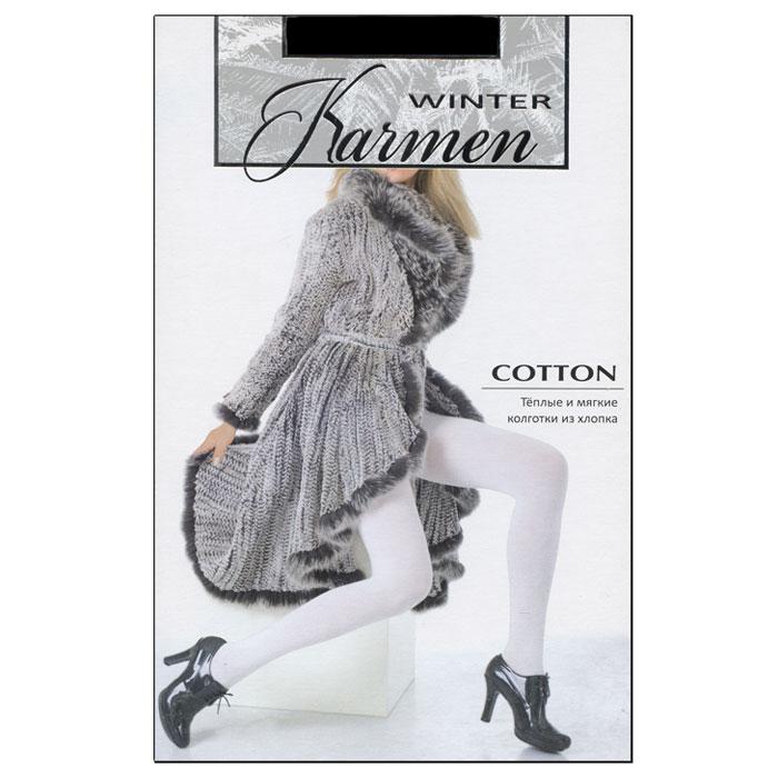 Колготки теплые CottonCotton NeroТеплые и мягкие колготки из хлопка с плоскими швами. Идеально облегают фигуру и обеспечивают надежную защиту от холода.