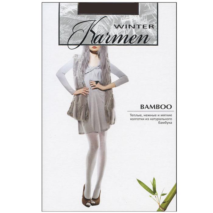 Колготки теплые BambooK-Bamboo NeroТеплые и мягкие колготки из натурального бамбука. Прекрасно облегают фигуру и обеспечивают надежную защиту от холода.