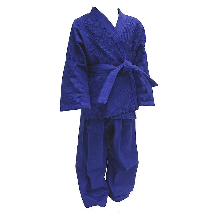 Кимоно для дзюдоAX7Кимоно для дзюдо ATEMI состоит из рубашки, брюк и пояса. Просторная рубашка с глубоким запахом, с боковыми разрезами и длинным рукавом изготовлена из плотного хлопка с перекрестным плетением. Боковые швы, края рукавов и полочек, низ рубашки укреплены дополнительными строчками и крепкой лентой с внутренней стороны. Рубашка также укреплена по вертикали спины и в области талии. Просторные брюки особого покроя на поясе со шнурком для фиксации брюк на талии имеют шлевки для дополнительного пояса и укреплены на коленях. Длинный плотный пояс укреплен многорядной прострочкой. Комплект изготовлен из натурального хлопка плотностью 625 г/м2. Кимоно рекомендуется для тренировок в зале.