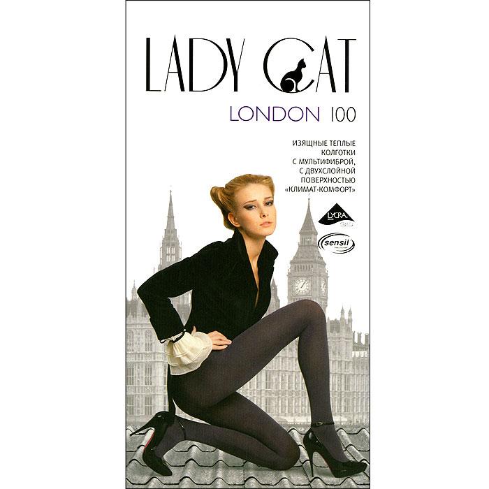 Колготки London 100London 100_черныйИзящные и очень плотные колготки Грация Lady Cat London 100 из мультифибры, изготовленные по технологии двухслойной поверхности климат-комфорт, сохраняют тепло, не пропускают холод и позволяют коже дышать. Хлопковая ластовица и плоские швы обеспечивают максимальный комфорт. В размерах 5 и 6 сзади имеется специальная вставка. Плотность: 100 den.