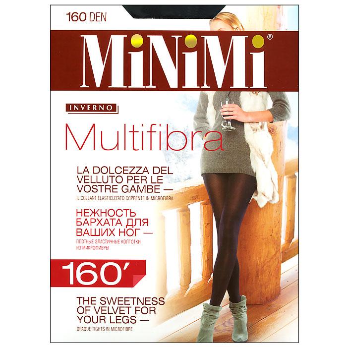Колготки Multifibra 160Multifibra 160_NeroПлотные эластичные колготки из микрофибры с комфортным поясом, с гигиеничной ластовицей, плоским швом. Нежность бархата для ваших ног. Плотность 160 ден.