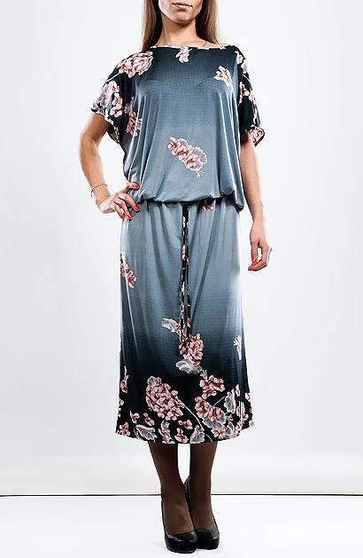Платье1-12-5-145Красивое трикотажное платье Hammond идеально подойдет для современных женщин. Модель свободного кроя с короткими рукавами и круглым вырезом горловины, подчеркнет женственность и все достоинства вашей фигуры. Дополнительно линию талии подчеркивает резинка на поясе. Платье прекрасно подойдет для ежедневных прогулок, встреч, свиданий и даже праздников.