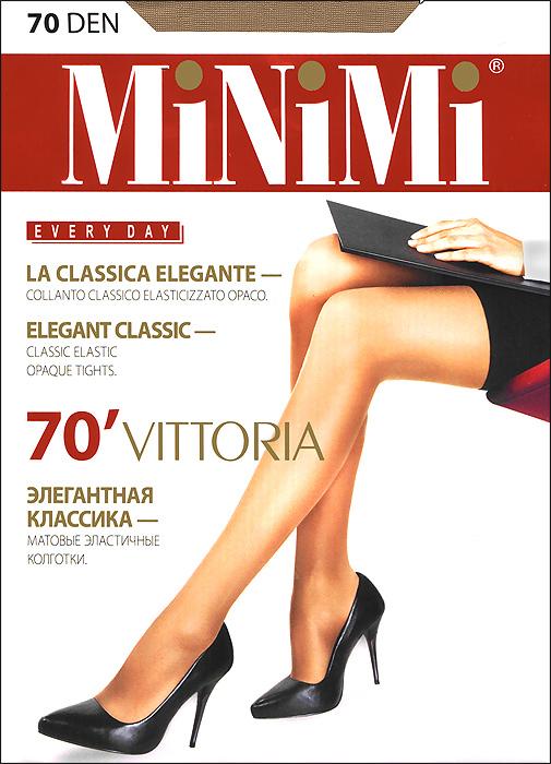 Колготки Vittoria 70Vittoria 70Классические матовые эластичные колготки Minimi Vittoria 70с усиленными шортиками и укрепленным мыском. Плотность: 70 ден.