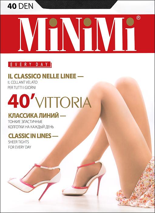 Колготки Vittoria 40Vittoria 40Классические эластичные колготки Minimi Vittoria 40с усиленными шортиками и укрепленным мыском. Плотность: 40 ден.