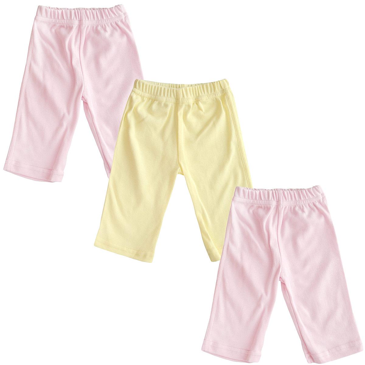 Штанишки для девочки, 3 шт. 37-560д37-560дКомплект Фреш Стайл состоит из трех штанишек для девочки. Штанишки послужат идеальным дополнением к гардеробу малышки, обеспечивая ей наибольший комфорт. Изготовленные из натурального хлопка, они необычайно мягкие и легкие, не раздражают нежную кожу ребенка и хорошо вентилируются, а эластичные швы приятны телу малышки и не препятствуют ее движениям. Штанишки дополнены мягкой резинкой, не сдавливающей животик ребенка. Штанишки очень удобный и практичный вид одежды для малышей. Отлично сочетаются с футболками, кофточками и боди. В таких штанишках вашей малышке будет уютно и комфортно! УВАЖАЕМЫЕ КЛИЕНТЫ! Обращаем ваше внимание на тот факт, что товар поставляется в цветовом ассортименте. Поставка осуществляется в зависимости от наличия на складе.