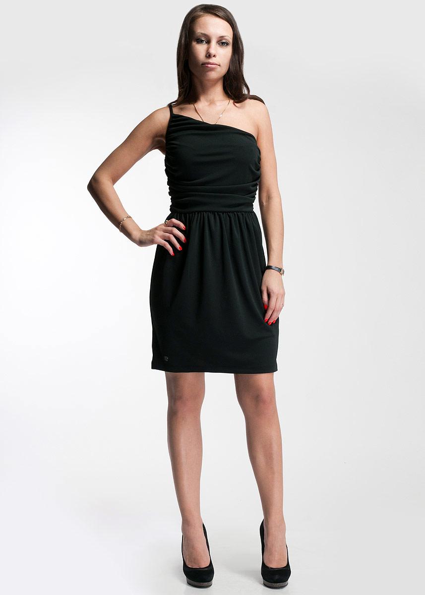 CS13M178_2051Стильное платье SuperTrash будет отлично смотреться на вас. Модель на одно плечо выполнена из высококачественного трикотажа. Сбоку застегивается на потайную застежку-молнию. Это платье идеальный вариант для вашего гардероба. В таком наряде вы безусловно привлечете восхищенные взгляды окружающих.