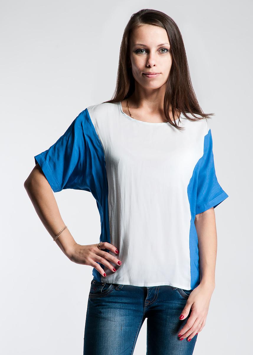 Блузка132C84-8-1GСтильная блуза Ginger+Soul, изготовленная из высококачественного материала, необычайно мягкая и приятная на ощупь, не сковывает движения, обеспечивая наибольший комфорт. Модель с короткими рукавами и круглым воротником. Эта блуза отличный повседневный вариант для современных женщин. Ведь такая модель подходит куда угодно.