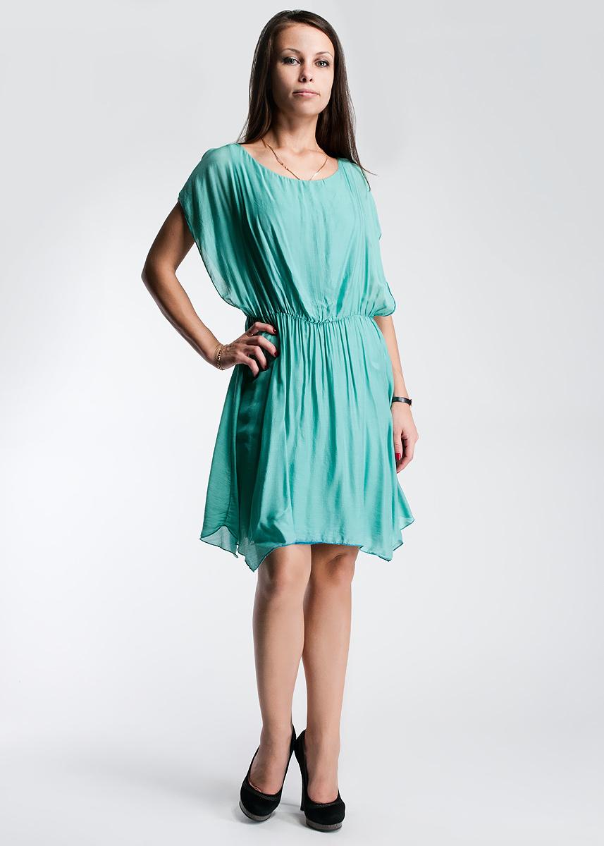 Платье61D2H4Оригинально женское платье Toy G, выполненное из высококачественного материала, будет отлично смотреться на вас. Модель свободного кроя с круглым вырезом горловины, на талии дополнена эластичной резинкой. Это платье отличный вариант для вашего гардероба. Идеальный вариант для создания эффектного образа.