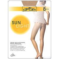 Колготки Sun Light 8Sun Light 8_CamoscioТончайшие колготки с лайкрой, эффект обнаженности, удобная резинка в области талии, абсолютно прозрачный носок. Плотность: 8 ден.