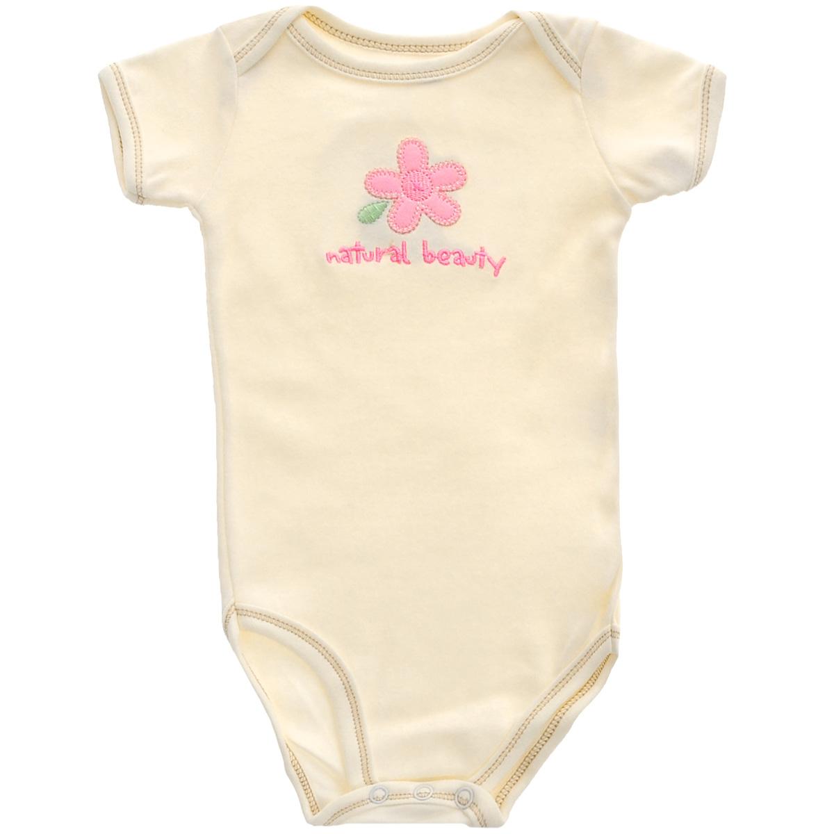 Hudson Baby Боди детское Цветочек. 68140