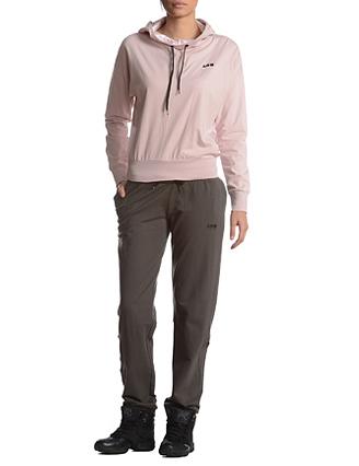 Брюки женские. 3832138321Стильные женские брюки Freddy, изготовленные из высококачественного материала, прекрасно подойдут как для прогулок, так и для занятий спортом. Модель с широкой резинкой на поясе завязывается на шнурки. По бокам брюки дополнены двумя прорезными карманами и одним карманом на застежке-молнии. Сзади - два накладных кармана. В таких брюках вы будете чувствовать себя комфортно в течение всего дня.
