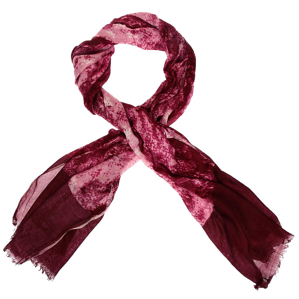 Шарф372085нЭлегантный шарф станет изысканным, нарядным аксессуаром, который призван подчеркнуть индивидуальность и очарование женщины. Края оформлены бахромой. Этот модный аксессуар женского гардероба гармонично дополнит образ современной женщины, следящей за своим имиджем и стремящейся всегда оставаться стильной и элегантной. В модном шарфе вы всегда будете выглядеть женственной и привлекательной.