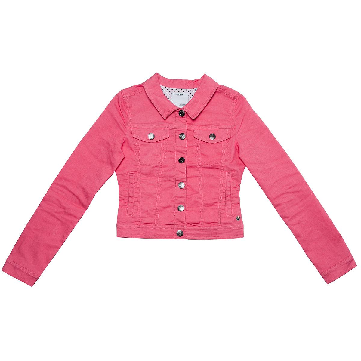 Куртка60100520Стильная женская куртка Broadway, изготовленная из высококачественного материала, легкая и комфортная, прекрасно подойдет для прогулок в прохладное время года. Модель с длинными рукавами и отложным воротником застегивается на пуговицы. Спереди расположены два прорезных кармана и два кармана на груди с клапанами на пуговицах. Манжеты рукавов также застегиваются на пуговицы. Такая куртка отлично дополнит ваш образ и позволит выделиться из толпы.