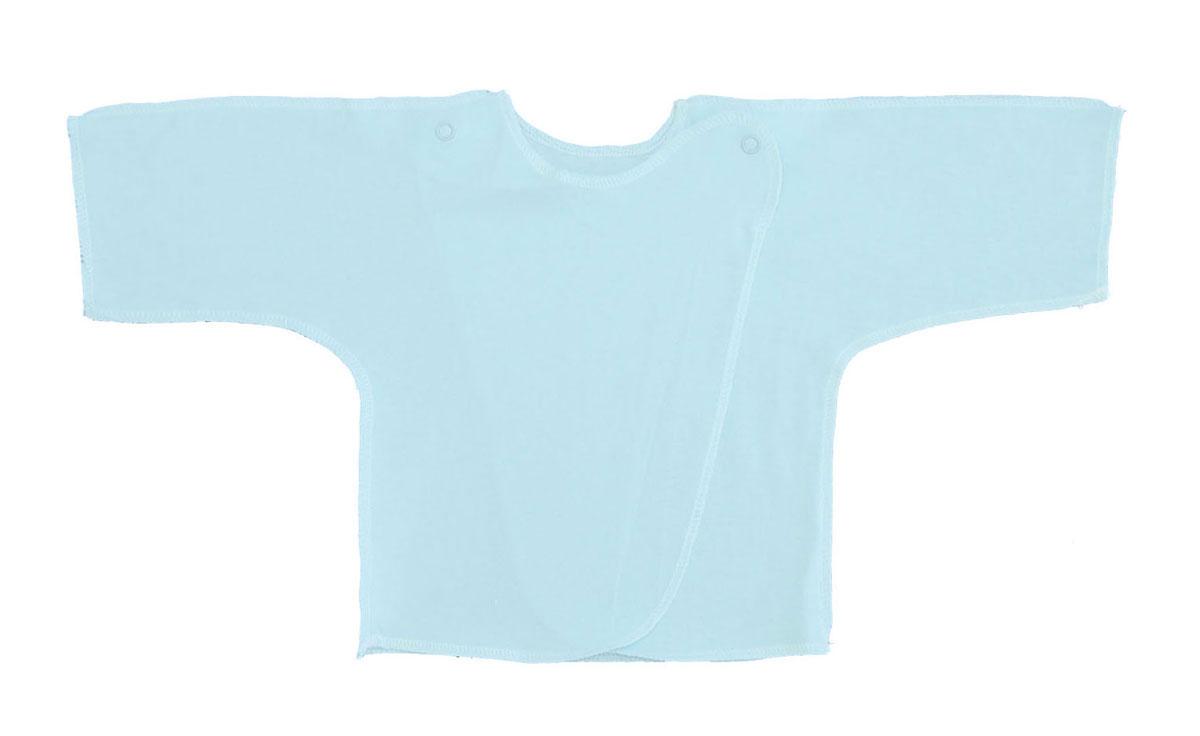 5002Распашонка для мальчика Трон-плюс послужит идеальным дополнением к гардеробу вашего малыша. Распашонка изготовлена из натурального хлопка, благодаря чему она необычайно мягкая и легкая, не раздражает нежную кожу ребенка и хорошо вентилируется, а эластичные швы приятны телу малыша и не препятствуют его движениям. Распашонка с запахом, застегивается при помощи двух кнопок на плечах, которые позволяют без труда переодеть ребенка.
