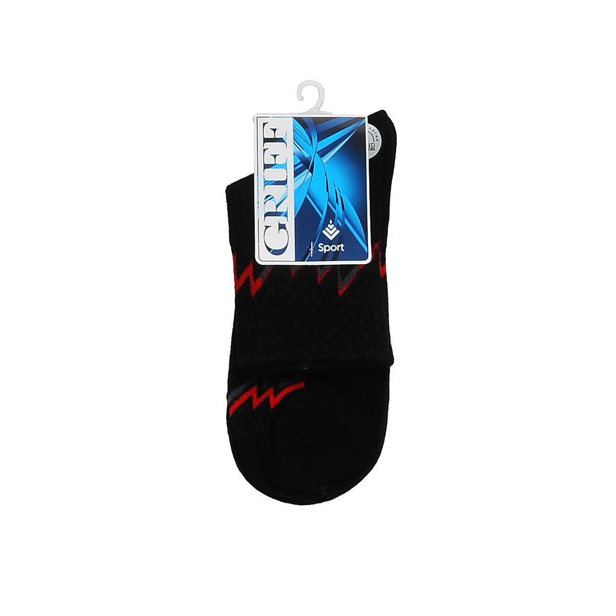 S30Носки для активного отдыха и занятий спортом Griff Sport отличаются повышенной гигроскопичностью и комфортностью. Удобная резинка пресс-контроль способствует профилактике усталости ног. Усиленные пятка и носок.