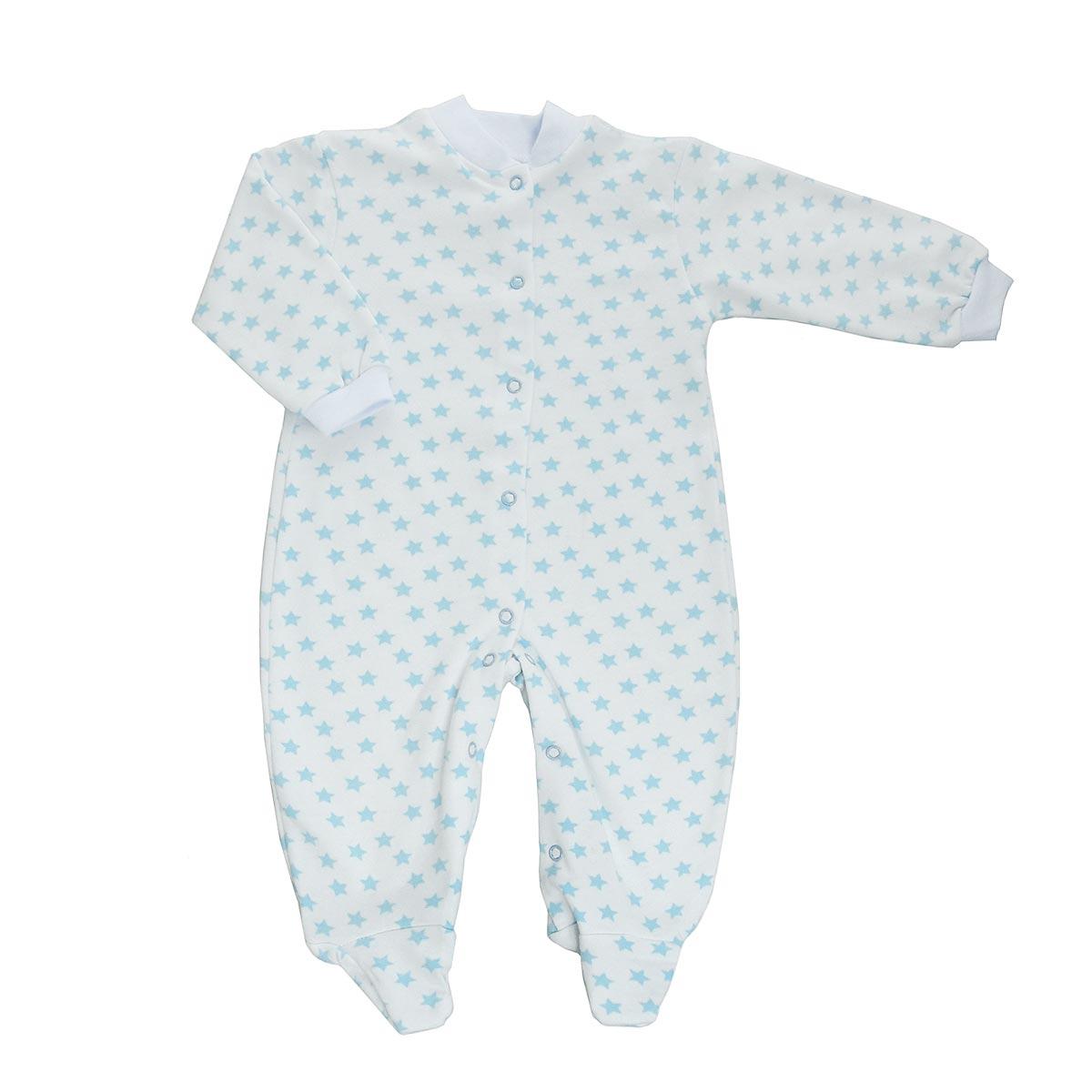 Комбинезон детский. 58215821Детский комбинезон Трон-Плюс - очень удобный и практичный вид одежды для малышей. Теплый комбинезон выполнен из футерованного полотна - натурального хлопка, благодаря чему он необычайно мягкий и приятный на ощупь, не раздражает нежную кожу ребенка, и хорошо вентилируются, а эластичные швы приятны телу малыша и не препятствуют его движениям. Комбинезон с длинными рукавами и закрытыми ножками имеет застежки-кнопки от горловины до щиколоток, которые помогают легко переодеть младенца или сменить подгузник. Рукава понизу дополнены неширокими трикотажными манжетами, мягко облегающими запястья. Вырез горловины дополнен мягкой трикотажной резинкой. Оформлен комбинезон оригинальным принтом. С детским комбинезоном спинка и ножки вашего малыша всегда будут в тепле, он идеален для использования днем и незаменим ночью. Комбинезон полностью соответствует особенностям жизни младенца в ранний период, не стесняя и не ограничивая его в движениях!