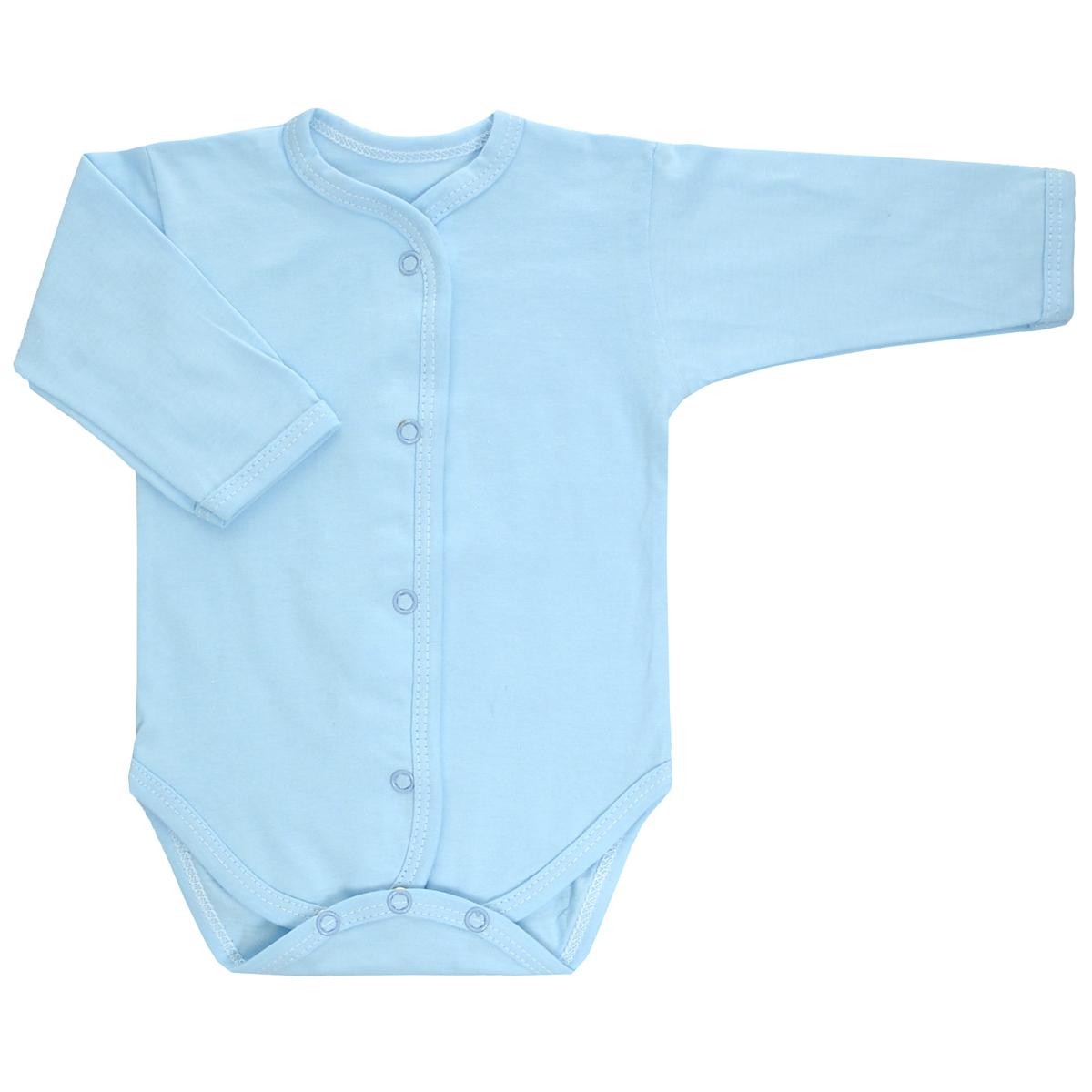 Боди детское. 58665866Детское боди Трон-плюс с длинными рукавами послужит идеальным дополнением к гардеробу ребенка, обеспечивая ему наибольший комфорт. Изготовленное из кулирного полотна - натурального хлопка, оно необычайно мягкое и легкое, не раздражает нежную кожу ребенка и хорошо вентилируется, а эластичные швы приятны телу младенца и не препятствуют его движениям. Боди с длинными рукавами имеет удобные застежки-кнопки по всей длине и на ластовице, которые помогают легко переодеть ребенка или сменить подгузник. Боди полностью соответствует особенностям жизни малыша в ранний период, не стесняя и не ограничивая его в движениях!