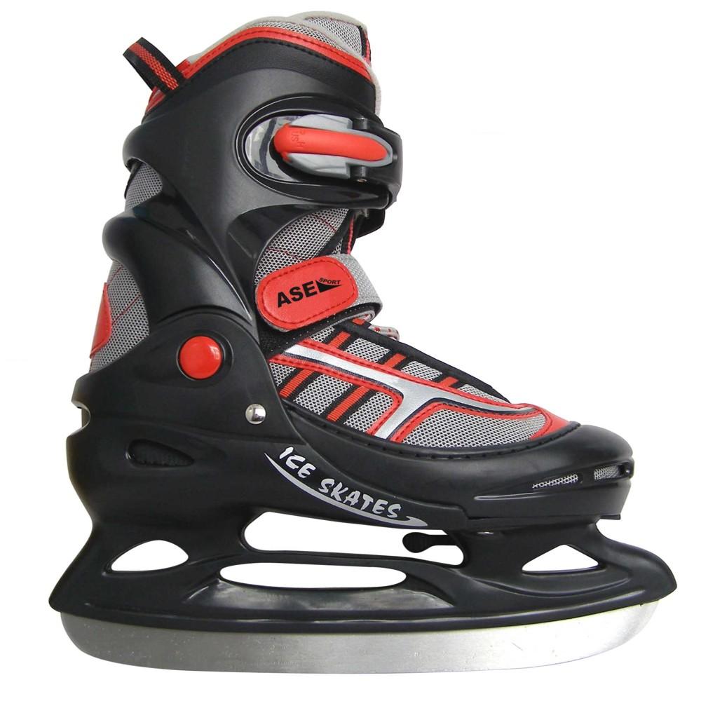ASE-SPORT Коньки хоккейные раздвижные ASE-211E