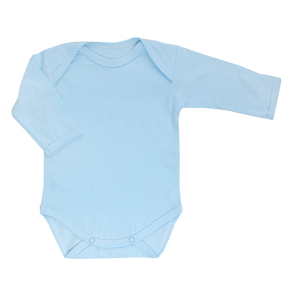 Боди детское. 58615861Детское боди Трон-плюс с длинными рукавами послужит идеальным дополнением к гардеробу вашего ребенка, обеспечивая ему наибольший комфорт. Боди изготовлено из кулирного полотна - натурального хлопка, благодаря чему оно необычайно мягкое и легкое, не раздражает нежную кожу ребенка и хорошо вентилируется, а эластичные швы приятны телу младенца и не препятствуют его движениям. Удобные запахи на плечах и кнопки на ластовице помогают легко переодеть младенца или сменить подгузник. Боди полностью соответствует особенностям жизни ребенка в ранний период, не стесняя и не ограничивая его в движениях. В нем ваш ребенок всегда будет в центре внимания.