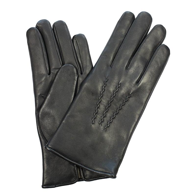 Перчатки мужские модель 11. Э-2M на шерстиЭ-2M_11Стильные мужские перчатки Edmins не только защитят ваши руки от холода, но и станут великолепным украшением. Перчатки выполнены из чрезвычайно мягкой и приятной на ощупь натуральной кожи ягненка, а их подкладка - из шерсти. Лицевая сторона оформлена декоративными стежками. Перчатки станут завершающим и подчеркивающим элементом вашего стиля и неповторимости.