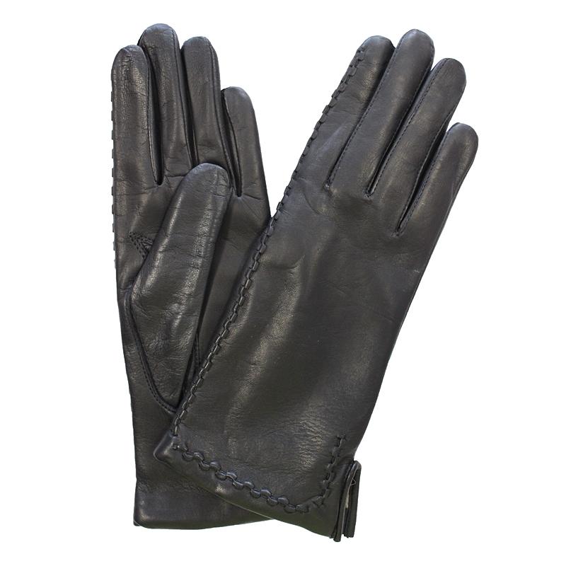 Перчатки женские модель 231. Э-2L на шерстиЭ-2L_231Стильные женские перчатки Edmins не только защитят ваши руки от холода, но и станут великолепным украшением. Перчатки выполнены из натуральной кожи ягненка, подкладка - из шерсти. Лицевая сторона перчатки оформлена декоративными стежками. В настоящее время перчатки являются неотъемлемой принадлежностью одежды, вместе с этим аксессуаром вы обретаете женственность и элегантность. Перчатки станут завершающим и подчеркивающим элементом вашего стиля и неповторимости.
