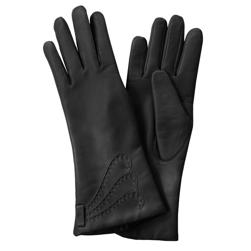 Перчатки женские модель 76. Э-21L на шерстиЭ-21L_76Стильные женские перчатки Edmins не только защитят ваши руки от холода, но и станут великолепным украшением. Перчатки выполнены из натуральной кожи ягненка, подкладка - из шерсти. Лицевая сторона оформлена декоративными стежками. В настоящее время перчатки являются неотъемлемой принадлежностью одежды, вместе с этим аксессуаром вы обретаете женственность и элегантность. Перчатки станут завершающим и подчеркивающим элементом вашего стиля и неповторимости.