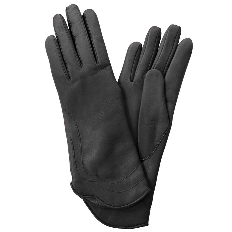 Перчатки женские модель 48. Э-21L на шерстиЭ-21L_48Стильные женские перчатки Edmins не только защитят ваши руки от холода, но и станут великолепным украшением. Перчатки выполнены из натуральной кожи ягненка, подкладка - из шерсти. Манжеты с полукруглым краем декорированы фигурными строчками. В настоящее время перчатки являются неотъемлемой принадлежностью одежды, вместе с этим аксессуаром вы обретаете женственность и элегантность. Перчатки станут завершающим и подчеркивающим элементом вашего стиля и неповторимости.
