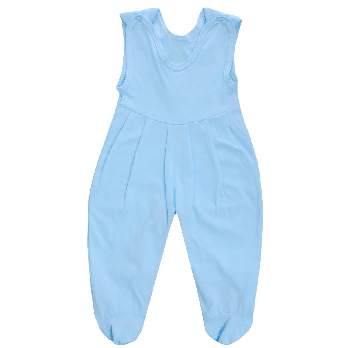 Ползунки5237Ползунки с грудкой Трон-плюс - очень удобный и практичный вид одежды для малышей. Они отлично сочетаются с футболками и кофточками. Ползунки выполнены из кулирного полотна - натурального хлопка, благодаря чему они необычайно мягкие и приятные на ощупь, не раздражают нежную кожу ребенка и хорошо вентилируются, а эластичные швы приятны телу младенца и не препятствуют его движениям. Ползунки с закрытыми ножками, застегивающиеся сверху на кнопки, идеально подойдут вашему ребенку, обеспечивая ему наибольший комфорт, подходят для ношения с подгузником и без него. Кнопки на ластовице помогают легко и без труда поменять подгузник в течение дня. От линии груди заложены складочки, придающие изделию оригинальность. Ползунки с грудкой полностью соответствуют особенностям жизни младенца в ранний период, не стесняя и не ограничивая его в движениях!
