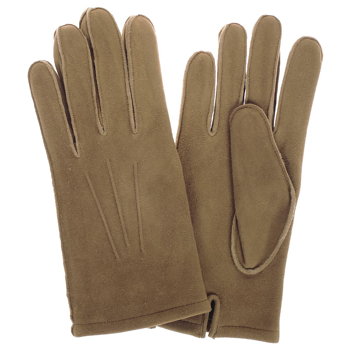 Перчатки мужские. 585585/23Стильные мужские перчатки Baggini не только защитят ваши руки от холода, но и станут великолепным украшением. Перчатки выполнены из чрезвычайно мягкой и приятной на ощупь натуральной кожи ягненка, а их подкладка - из мягкого флиса. Лицевая сторона оформлена декоративными стежками. Перчатки станут завершающим и подчеркивающим элементом вашего стиля и неповторимости.