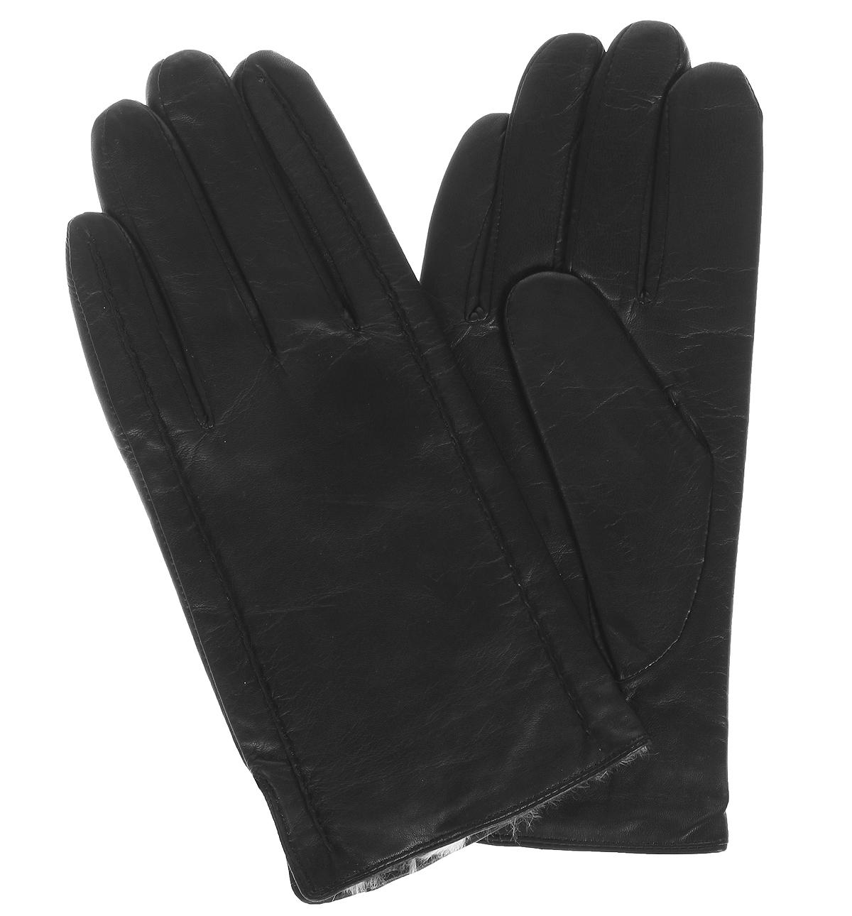 Перчатки мужские. F1457F1457/10Стильные мужские перчатки Baggini не только защитят ваши руки от холода, но и станут великолепным украшением. Перчатки выполнены из чрезвычайно мягкой и приятной на ощупь натуральной кожи, а их подкладка - из натурального меха кролика. Перчатки станут завершающим и подчеркивающим элементом вашего стиля и неповторимости.