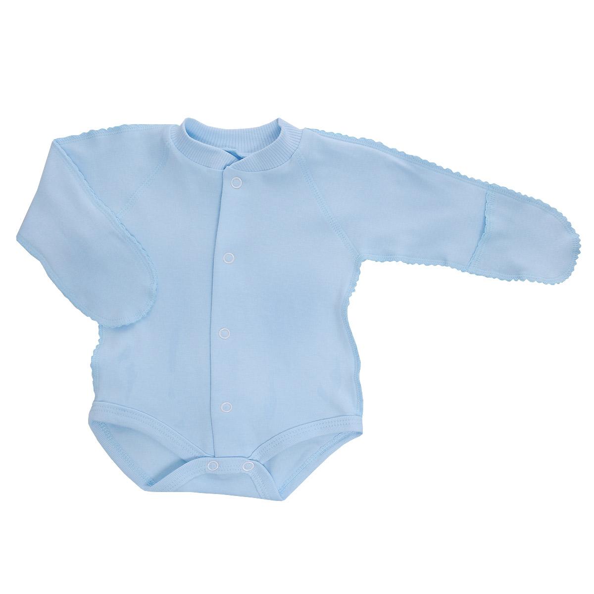 Боди детское. 37-32937-329Детское боди Фреш Стайл идеально подойдет вашему ребенку, обеспечивая ему наибольший комфорт. Боди с длинными рукавами изготовлено из натурального хлопка, благодаря чему оно необычайно мягкое и легкое, не раздражает нежную кожу ребенка и хорошо вентилируется. Боди, выполненное швами наружу, не сковывает движения, а удобные застежки-кнопки по всей длине и на ластовице помогают легко переодеть ребенка. Благодаря рукавичкам ребенок не поцарапает себя. Современный дизайн и яркая расцветка делают боди оригинальным и стильным предметом детского гардероба. В нем ваш ребенок всегда будет в центре внимания.