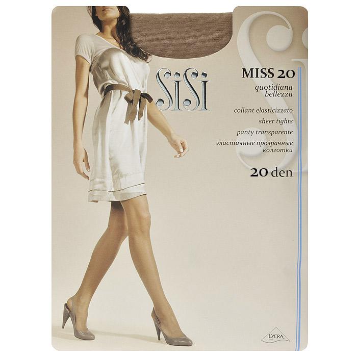 Колготки женские Miss 20Miss 20_DainoПрозрачные шелковистые колготки Sisi Miss 20 с уплотненными шортами, без ластовицы. Удобные швы.