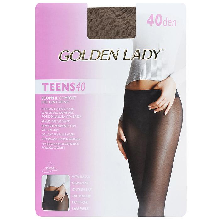 Колготки женские Teens 40 Vita BassaTeens 40 Vita Bassa_DainoПрозрачные колготки Golden Lady Teens 40 Vita Bassa с заниженной талией, мягкий ремешок. Без штанишек, удобные швы, гигиеничная ластовица, невидимый носок.