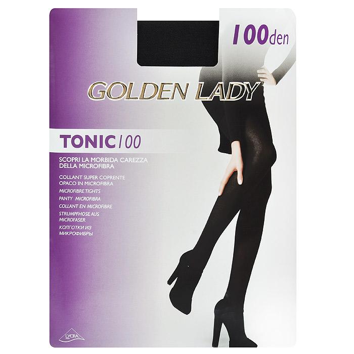 Колготки женские Tonic 100Tonic 100_MoroСуперплотные эластичные колготки Golden Lady Tonic 100 из мягкой микрофибры. Без штанишек, удобные швы, гигиеничная ластовица.