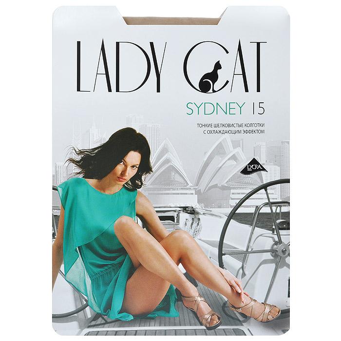 Колготки женские Sydney 15Sydney 15Уникальные тонкие колготки Lady Cat Sydney 15, изготовленные из специальных нитей, с явно выраженным охлаждающим эффектом. Дарят ощущение прохлады в жаркое время. дополнительные плюсы - плоские швы, ластовица из хлопка.