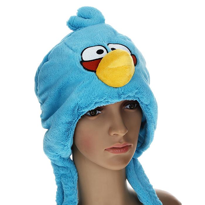 Шапка детская. 9313893136Шапка детская Angry Birds облегает головку ребенка, надежно защищая ушки, лобик и щечки от продуваний. Выполненная из 100% полиэстера, она необычайно легкая и приятная на ощупь. Подкладка также выполнена из 100% полиэстера. Шапочка выполнена из искусственного меха в виде мордочки птички - персонажа знаменитой видео-игры Angry Birds. На макушке она декорирована хохолком. Шапочка дополнена широкими и длинными завязками, с помощью которых ее можно зафиксировать под подбородком. Оригинальный дизайн и яркая расцветка делают эту шапочку модным и стильным предметом детского гардероба. В ней ваш непоседа будет чувствовать себя уютно и комфортно и всегда будет в центре внимания!