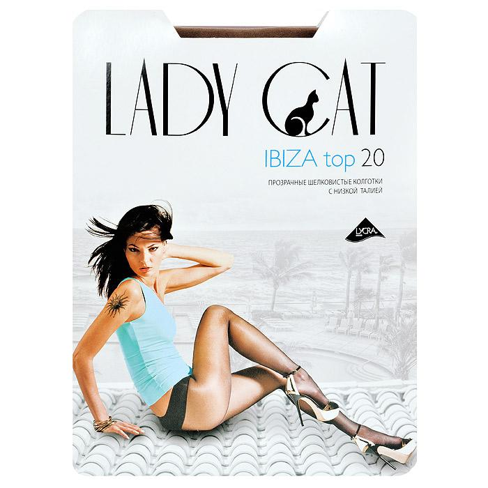 Колготки женские Ibiza Top 20Ibiza Top 20Прозрачные шелковистые колготки Lady Cat Ibiza Top 20 с низкой талией. Широкий эластичный пояс комфортно облегает линию бедер. Дополнительные плюсы - плоские швы и ластовица из хлопка.