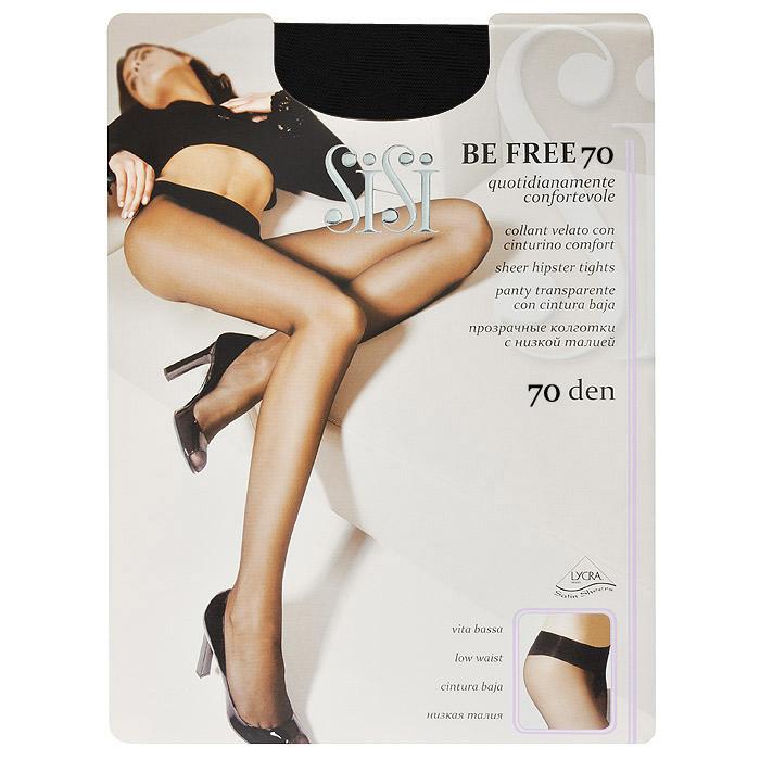 Колготки женские Be Free 70 Vita BassaBe Free 70 Vita Bassa_DainoПрозрачные колготки Sisi Be Free 70 Vita Bassa без трусиков с заниженной талией, комфортным поясом, сверхпрочными швами, гигиеничной ластовицей и невидимым носком.