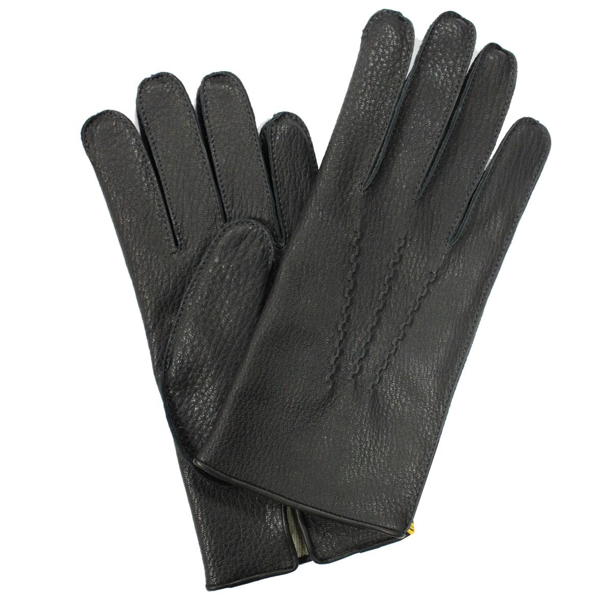"""Перчатки мужские на шерсти. Э-4M_11Э-4M_11Стильные мужские перчатки Edmins не только защитят ваши руки от холода, но и станут великолепным украшением. Перчатки выполнены из чрезвычайно мягкой и приятной на ощупь натуральной кожи оленя, а их подкладка - из шерсти. Перчатки с лицевой стороны декорированы отстрочкой """"три луча"""". Перчатки станут завершающим и подчеркивающим элементом вашего стиля и неповторимости."""