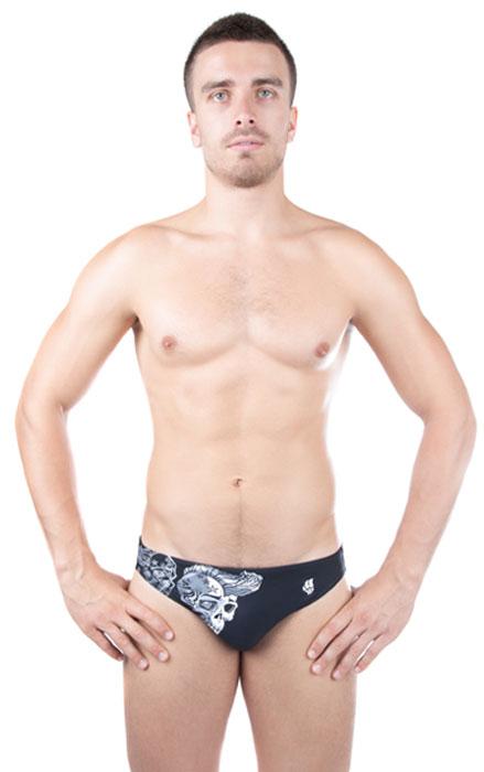 M0213 03Плавки мужские MadWave Ghost, изготовленные из нейлона с добавлением лайкры, позволяют коже дышать, быстро сохнут и сохраняют первоначальный вид и форму даже при длительном использовании. Плавки на талии регулируются при помощи шнурка. Сбоку рисунок. Плавки подходят как для занятий в бассейне, так и для пляжного отдыха.
