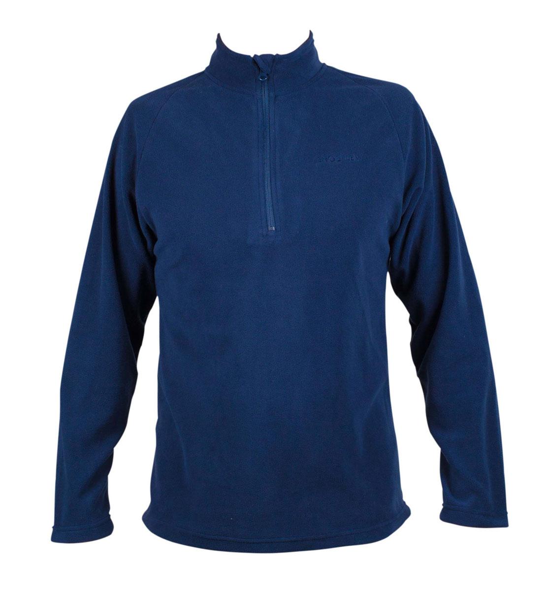 Флисовая толстовка унисекс T-zip sweat. FTU100FTU100Флисовые толстовки и легкие куртки SNODALEN это гарантия тепла и уюта при занятиях зимними видами спорта и использовании в городе в холодную погоду. Флис прекрасно сохраняет тепло и обладает дышащими свойствами за счет плетения материала. Рекомендуется использовать как базовый слой или второй слой одежды в холодное время года. - длинный рукав. - молния до середины груди. - воротник-стойка 7 см с защитным клапаном для молнии.